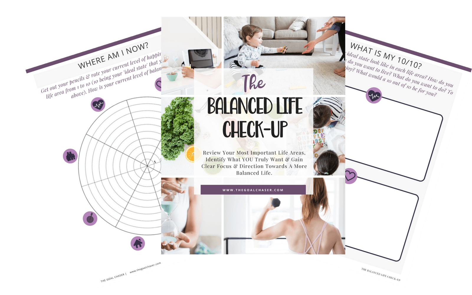 Download the FREE Balanced Life Check-up Worksheets