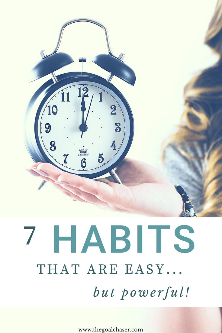 We usually describe our habits as either 'good' or 'bad' depending if they help or hinder our efforts to live our best lives. Sometimes, it's really hard to stick to the good habits. But the great news is that there are some good habits that are surprisingly easy to implement. Better yet, they can actually make a big impact.