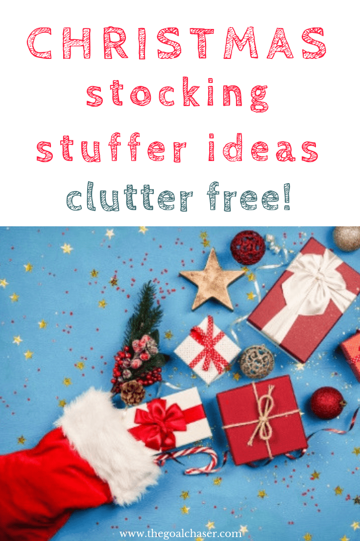 Stocking stuffer ideas that don't include junk or clutter! Useful items that can be used, consumed, enjoyed or experienced. Avoid the clutter and save money.