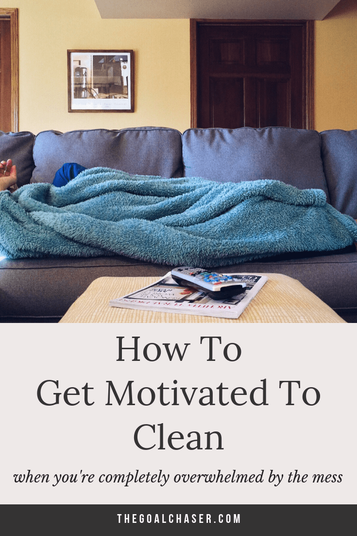 Looking for some simple and realistic tips on how to get motivated to clean your home? Even when you're starting from total overwhelm? I get it. Sometimes my home gets so messy that I completely shut down. It becomes a huge monumental task and so I just want to hide in the pantry with a nice cup of tea and forget about it.