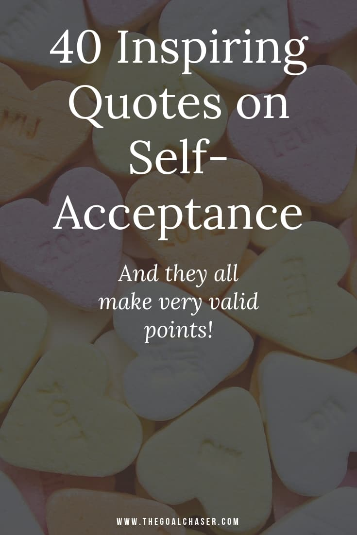 Love Yourself Quotes 40 Inspiring Quotes On Self Acceptance