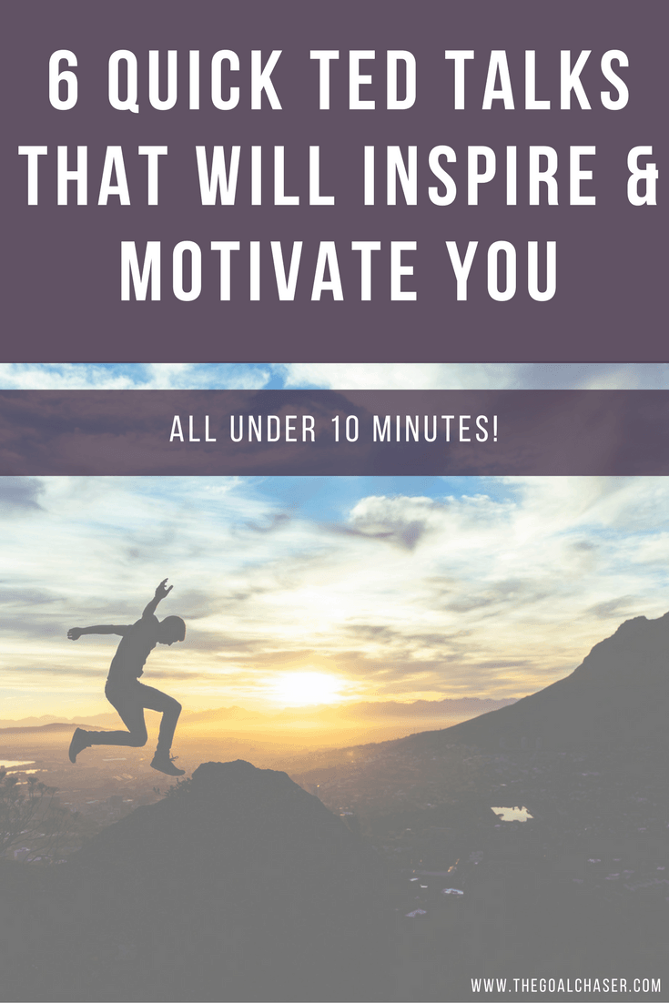 6 Of The Best Motivational Speeches - All Under 10 Minutes!