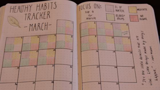 how to set up a habit tracker that works for you