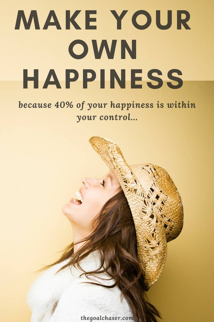 Studies on happiness have shown that approximately 40% of our happiness is within our direct control. Not our genetics. Not our bank balance, health or social status. But the thoughts, beliefs and things that we do - day in and day out. And that's a game changer. Here are 20 great tips to boost your happiness, because it's within your control!
